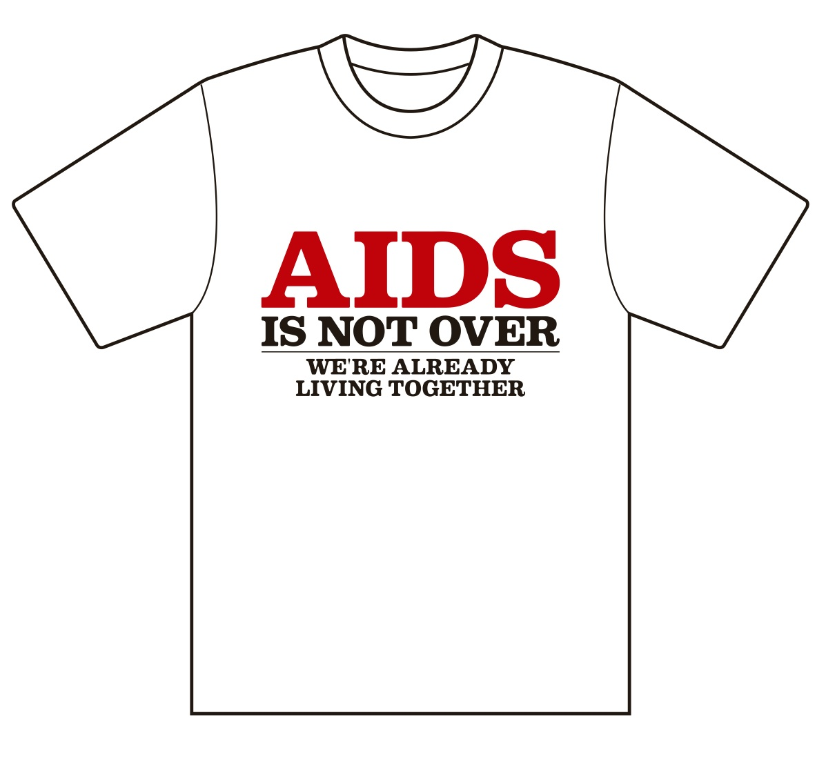 aidsisnotover_tshirt_fw_red